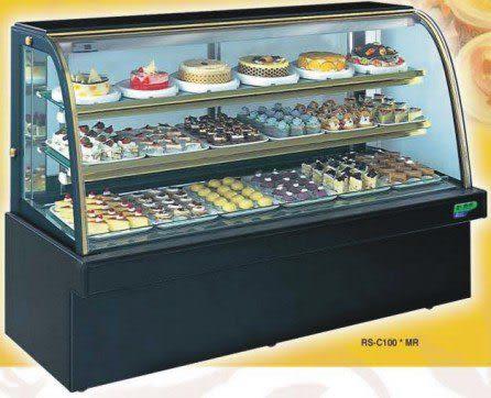 圓弧大理石型 西點蛋糕冷藏櫃【5尺冰櫃】型號:C-105MR