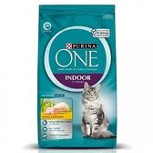 【寵物王國】普瑞納-ONE CAT 頂級貓乾糧【室內成貓雞肉配方】3kg