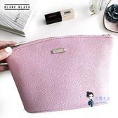 化妝包 韓國手拿粉色化妝包女小號便攜大容量化妝品收納包包 1色 交換禮物
