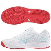 MIZUNO CYCLONE SPEED 3 女鞋 排球 耐磨 止滑 白藍【運動世界】V1GA218010
