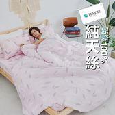 『TCL08』奧地利100%TENCEL涼感純天絲6尺雙人加大床包枕套三件組(不含被套)床單 床套 床巾
