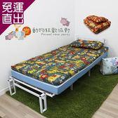 KOTAS 冬夏透氣床墊 單人 3尺  送記憶枕1顆 記憶枕 單人床墊-動物派對3尺【免運直出】