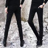 春季彈力黑色牛仔褲男士韓版修身長褲小腳褲潮男裝新款休閒男褲子  美斯特精品