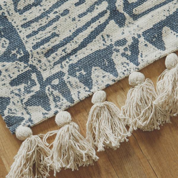 地毯 New Bohemian 印度手工編織地毯 - 圖騰【2色任選】印度製 地墊 翔仔居家