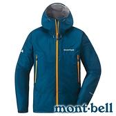【mont-bell】Rain Dancer 男GORE-TEX單件式外套『SLBL 石灰藍』1128618 防潑水 GORE-TEX