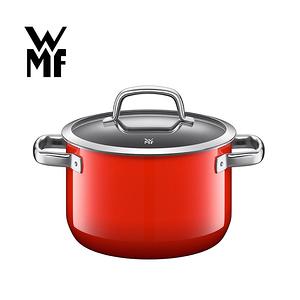 【德國WMF】Naturamic系列24cm高身湯鍋(紅)