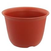 Luder S塑質素陶盆10吋 紅