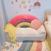 懶人沙發榻榻米靠背臥室女小沙發小型可愛雙人豆袋房間ins風網紅快速出貨
