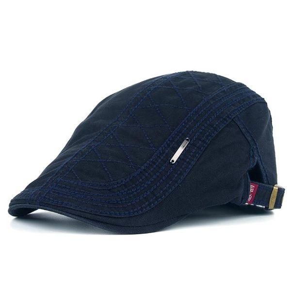 貝雷帽 2019春夏季新款時尚休閒男女士棉質貝雷帽正韓鴨舌帽前進帽牛仔帽 快速出貨