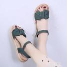 平底涼鞋 涼鞋女士夏季新款厚底學生仙女風百搭時裝溫柔平底鞋ins潮 韓菲兒