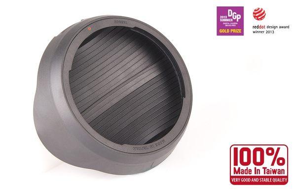 我愛買#Hoocap半自動鏡頭蓋R7267A相容Canon原廠ES-78遮光罩EF 50mm F1.2L遮罩USM太陽罩F/1.2 L