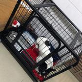 寵物圍欄狗狗籠子小型犬圍欄泰迪貴賓斗牛圍欄柵欄訓廁寵物用品潮WY