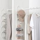 日本創意帽子收納架衣帽間收納神器鐵藝簡約懸掛式省空間置物架子 雙12鉅惠