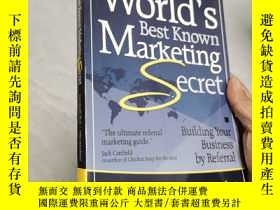 二手書博民逛書店the罕見world s best known marketing secret 英文原版Y260663