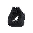 KANGOL 側背包 束口包 黑色 6025301820 noA84
