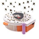 滅蒼蠅神器室內電動捕蠅器餐廳全自動抓捕捉蒼蠅機殺手蒼蠅籠策銳  igo  薔薇時尚