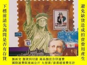 二手書博民逛書店Mint罕見Set of Commemorative Stamp