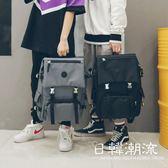 後背包  後背包男韓版大容量旅行背包休閑原宿高中學生電腦書包女
