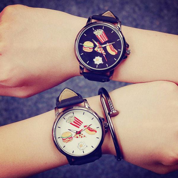 【原創館】超萌吃貨 卡通 學生手表