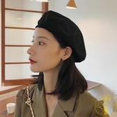 貝雷帽女薄款透氣八角帽韓版日系英倫復古畫家帽【雲木雜貨】