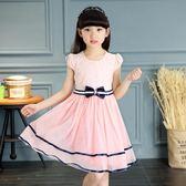 女童洋裝夏裝2018新款兒童裝公主紗裙子 ZL146『miss洛羽』