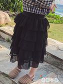 女童紗裙半身裙 超洋氣公主蛋糕裙【奇趣小屋】