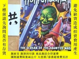 二手書博民逛書店Goosebumps罕見Horrorland THE SCREAM OF THE HAUNTED MASKY