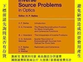 二手書博民逛書店Inverse罕見Source Problems In Opti