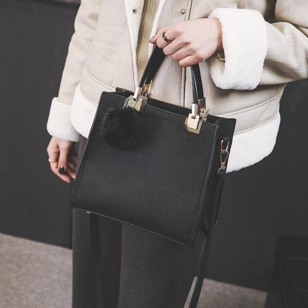 小方包 女包包秋冬新款韓版時尚復古休閒小方包手提包單肩斜挎包小包 唯伊時尚