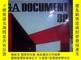 二手書博民逛書店GA罕見DOCUMENT 世界の建築 98(日文) 。Y180897