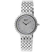 Ogival 愛其華 晶華典雅奧地利水晶鑽腕錶(銀) 3811MW