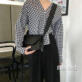 新品正韓復古小方包時尚簡約寬肩帶單肩斜挎包女1件免運