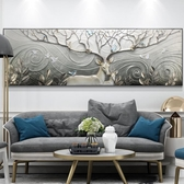 30mm厚板  客廳裝飾畫沙發背景墻畫3D立體浮雕畫現代簡約臥室床頭掛畫墻壁畫   麻吉鋪