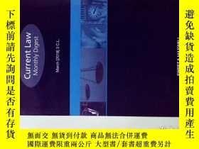 二手書博民逛書店Current罕見Law Monthly Digest 03 2018 現行法律月刊文摘法律學術原版期刊Y14
