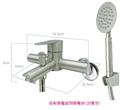 【麗室衛浴】國產精緻304白鐵 不鏽鋼淋浴龍頭組 LS2100