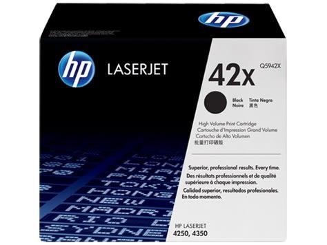 Q5942X HP高容量原廠碳粉匣 LJ4250/4350