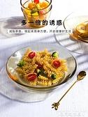 沙拉碗日式玻璃碗可愛飯碗創意個性家用耐熱蒸蛋碗碗碟套裝甜品沙拉小碗迷你屋 迷你屋 新品