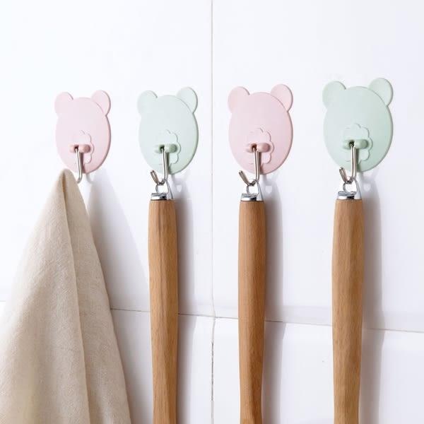 【TT】馬卡龍粘膠掛鈎 廚房強力承重壁掛粘鈎 浴室免打孔門後牆壁掛衣鈎
