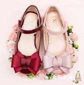 降價兩天-兒童涼鞋女童皮鞋軟底兒童公主鞋正韓小女孩高跟鞋春季新品單鞋