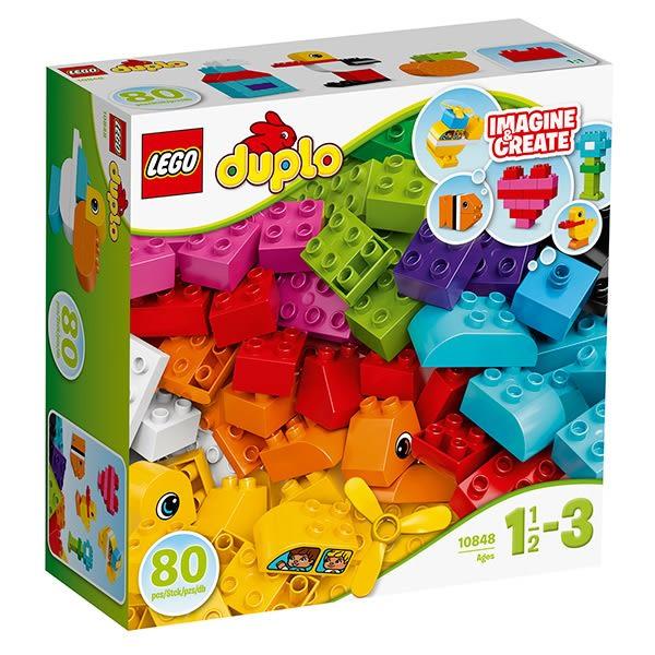 【愛吾兒】LEGO 樂高 得寶系列 10848 我的第一套積木