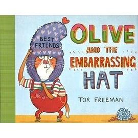 【麥克書店】OLIVE AND THE EMBARRASSING HAT/英文繪本《主題:情緒管理》