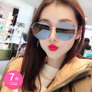 太陽眼鏡 男女 網美同款 復古大框眼鏡墨鏡 - 7色【ANN梨花安】