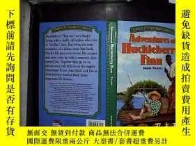 二手書博民逛書店adveniues罕見of huckleberry finnY1