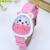 手錶 兒童手錶女孩男孩小學生錶可愛石英錶卡通小孩女童女生防水電子錶 尾牙