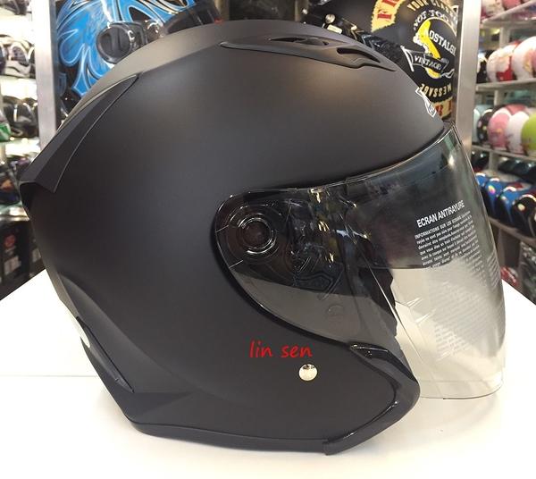 M2R安全帽,J5,素/消光黑