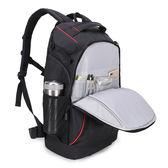 黑五好物節佳能相機包攝影包 雙肩單反專業80D6D 5D4尼康相機背包索尼雙肩包