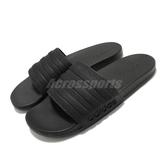 adidas 拖鞋 Adilette Comfort 黑 全黑 男鞋 基本款 舒適好穿 基本款【ACS】 FW5337