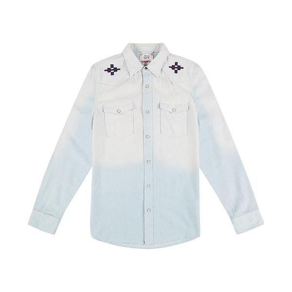Deus Ex Machina Crosshair Western Shirt 襯衫外套-男/女(水洗藍)