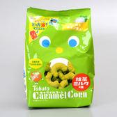 日本【東鳩】焦糖玉米脆果(抹茶牛奶)77g(賞味期限:2018.11.21)