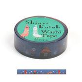 ★funbox生活用品★《Shinzi Katoh 加藤真治》和紙膠帶15mm(闇夜小紅帽)_ZI02884
